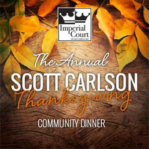 The Scott Carslon Thanksgiving Community Dinner